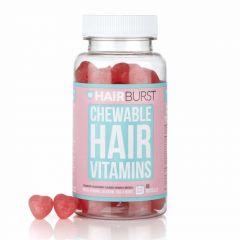 هيربرست فيتامينات قلوب المضغ الحمراء بطعم الفراولة